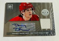 DANNY DEKEYSER - 2013-14 TOTALLY CERTIFIED - ROOKIE AUTOGRAPH JERSEY - RED WINGS
