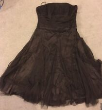Monsoon Brown Dress Size 14 Christmas New Year Dress