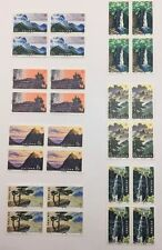 cn77PRC Stamps 1981 T67 Scenes Of Lusham Mountains With 7 Blk Of 4 MNH and 7 FDC