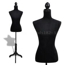 Female Mannequin Ladies Bust Display Black Female Dress Form U5R6