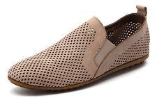 Django & Juliette Bescara Latte Flat Comfy Leather Shoes. RRP: $160