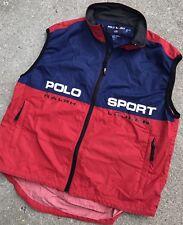Vintage Ralph Lauren Polo Sport RLX Vintage Men's Cycling Vest Size XL Rare