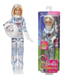 Barbie You Can Be Anything ASTRONAUT Doll 60th Anniversary