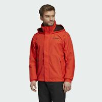 Adidas Men's Terrex Climaproof Active Orange Waterproof Outdoor AX Jacket DZ5985