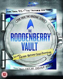 Star Trek The Original Series RODDENBERRY VAULT Blu-Ray with slipcover BRAND NEW