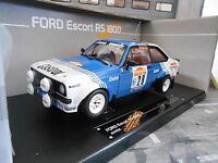 FORD Escort MKII RS1800 2.0 Rallye San Remo WM 1981 #28 Presotto Sunstar 1:18