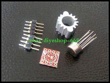 1set TO-99 LME49720 LME49720HA DIY KIT TO DIP8 Opamp IC PCB replace opa2604 5532