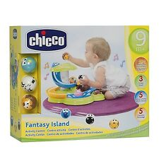 Chicco Fantasy Island Activity Centre 9+ Months Tunes & Sounds Free UK Postage!