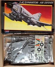 MONOGRAM 5821 - F-4C/D PHANTOM - 1/48 PLASTIC KIT NUOVO