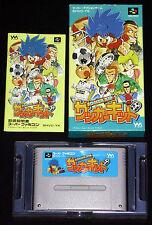 SOCCER KID Super Nintendo SNES Famicom Versione Giapponese NTSC ○○○○○ COMPLETO