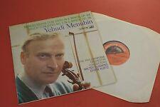 ASD 334 HMV Mendelssohn Bruch Violin Concertos Menuhin PO Susskind Kurtz LP