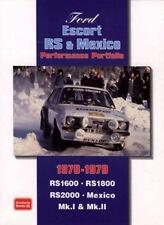 Ford Escort RS & Mexico Performance Portfolio 1970-1979