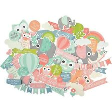 Kaisercraft Collectables Die Cut Shapes CT832 Little One Baby CardMaking