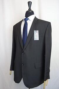 Men's New Alex By Alexandre London Black Regular Fit Suit 44R W36 L29 KB896