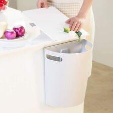 Small Trash Can Hanging Waste Bin Under Kitchen Sink Plastic Wastebasket