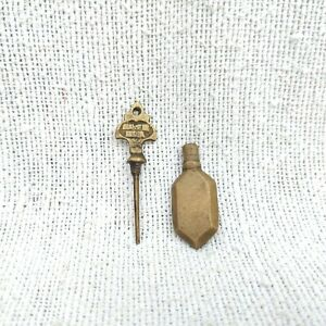 Antique Islamic Brass Kohl Holder Traditional Kohl Pot Eyeliner Surma Dani Kajal