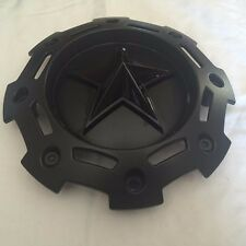"KMC Rockstar II Wheel Center Cap SC-198 NEW Black Rim Middle 8 1/2"" diameter"