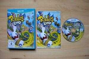 Wii U - Rabbids Land - (OVP, mit Anleitung)