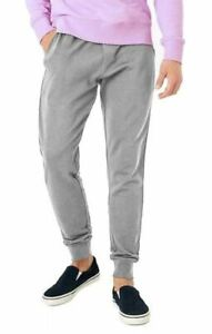 Mens Jogging Bottoms Elasticated Joggers Cuffed Track Pants Trousers