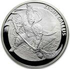 2017 1 Oz PROOF Silver 1 Clay ZI:SIN GALLUS TWELVE GUARDIANS Medal.