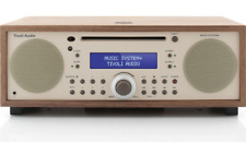 TIVOLI AUDIO MUSIC SYSTEM + BT RADIO AM/FM  WALNUT/BEIGE NUOVO GARANZIA ITALIA