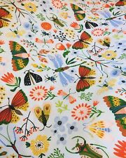 Vibrant Bugs Cotton Print Little Johnny Fabric By The Metre insects kids print