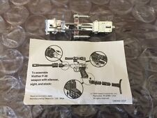 SPECIAL G1 Transformers MEGATRON CHROME LASER CANNON & ASSEMBLY INSTRUCTIONS
