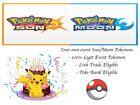 Pokemon Ultra Sun and Moon Birthday Pikachu Event Pokemon Special Move Celebrate