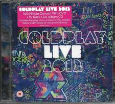 CD 15T + DVD CONCERT COLDPLAY LIVE 2012 feat RIHANNA NEUF SCELLE