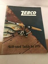 Vintage Zebco Reel & Rod Catalog Cardinal 1970