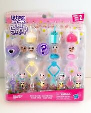 Littlest Pet Shop Frosting Frenzy Series 2 Teensies Habitats Charms clips NEW