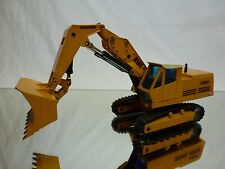 GESCHA LIEBHERR 961 HOCHLOFFELBAGGER - YELLOW 1:50 - GOOD CONDITION