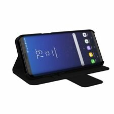 Incipio Breve Lightweight Wallet Folio Case For Samsung Galaxy S8 Plus – Black