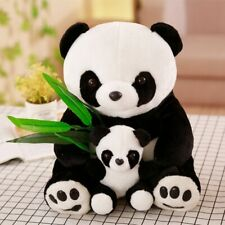 New Plush Panda Toys Cute Stuffed Animal Doll Mother and Son Toy Gift for Child