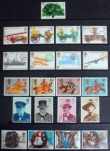 GB – 1974 Complete Set of Commemoratives – 6 Sets - UMM (MNH) (R8)