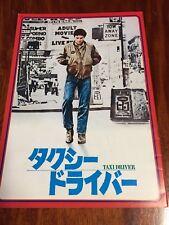 "Film ""Taxi Driver"" Martin Scorsese Movie Book(Program) Japanese ver"