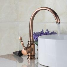 Rétro bassin de bain robinet pont seul trou Mitigeur d'eau chaude et fro Neur fr
