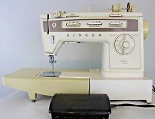 Singer Stylist 834 Vintage Sewing Machine with Power Pedal, Zig Zag - Free-Arm