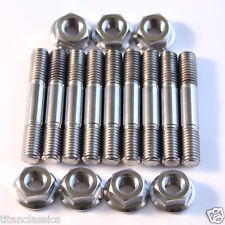KX500 TITANIUM head stud set (1989 onward) Corrosion proof and half the weight!