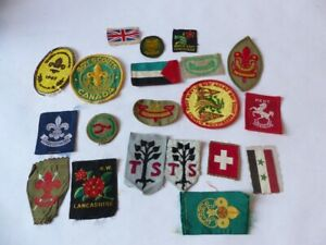 Collection de 20 écussons Scouts (26509)