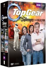 TOP GEAR UK 2005-2009 - THE CHALLENGES VOLUMES 1-4 COLLECTION - Rg2/4 DVD not US