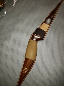 Bear Kodiak  New for  Recurve Bow RH  35# Satin Model Maple/Rosewood b2