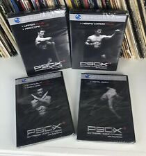 P90X+ Plus Extreme Home Fitness Workout Set, 4 Dvds New