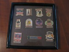 1996 Budweiser Commemorative Olympic Framed Pin Set