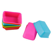 Chic Rectangle Shape Silicone Cake Mold Fondant Baking Mould Bakeware Bread Mold