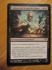 x1 Carte Magic MTG Trahison de la nuit des âmes VF rare (guerriers de Kamigawa)