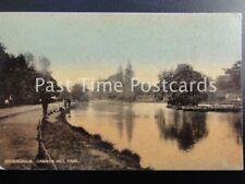 Birmingham CANNON HILL PARK c1905 Raphael Tucks - Tintophe series 5903