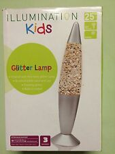 ILLUMINATION KIDS GLITTER LAMP 25W + R39 Bulb - Floating Glitter