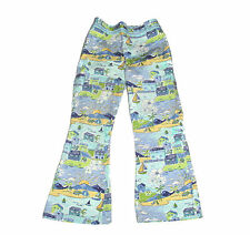 Gymboree Girls Vacation Time Scene Summer Cotton Pants Size 4