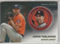 2020 Topps Series 2 Justin Verlander  Commemorative Coin Player Medallion Astros